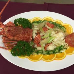 lobsterwithgingerandspringonion